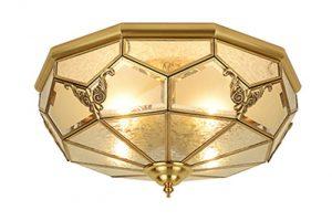 Ưu điểm và nhược điểm của mẫu đèn ốp đồng trang trí phòng khách