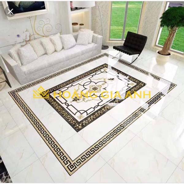 Những căn phòng tối giản có thể sử dụng mẫu gạch thảm đơn giản